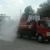 Polres Magetan Kerahkan Personil Semprot Disinfektan di Ponpes Al-Fattah Temboro