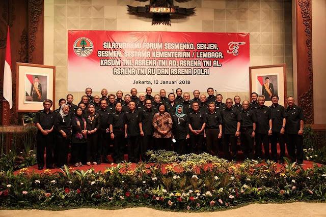 Kementerian LHK Selenggarakan Silaturahmi Forum Sekjen Kementerian/ Lembaga