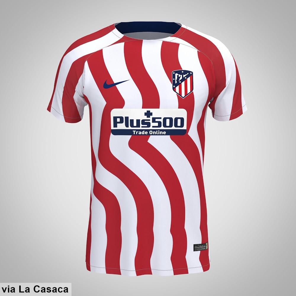 Atlético Madrid 22-23 Home Kit Leaked - Footy Headlines