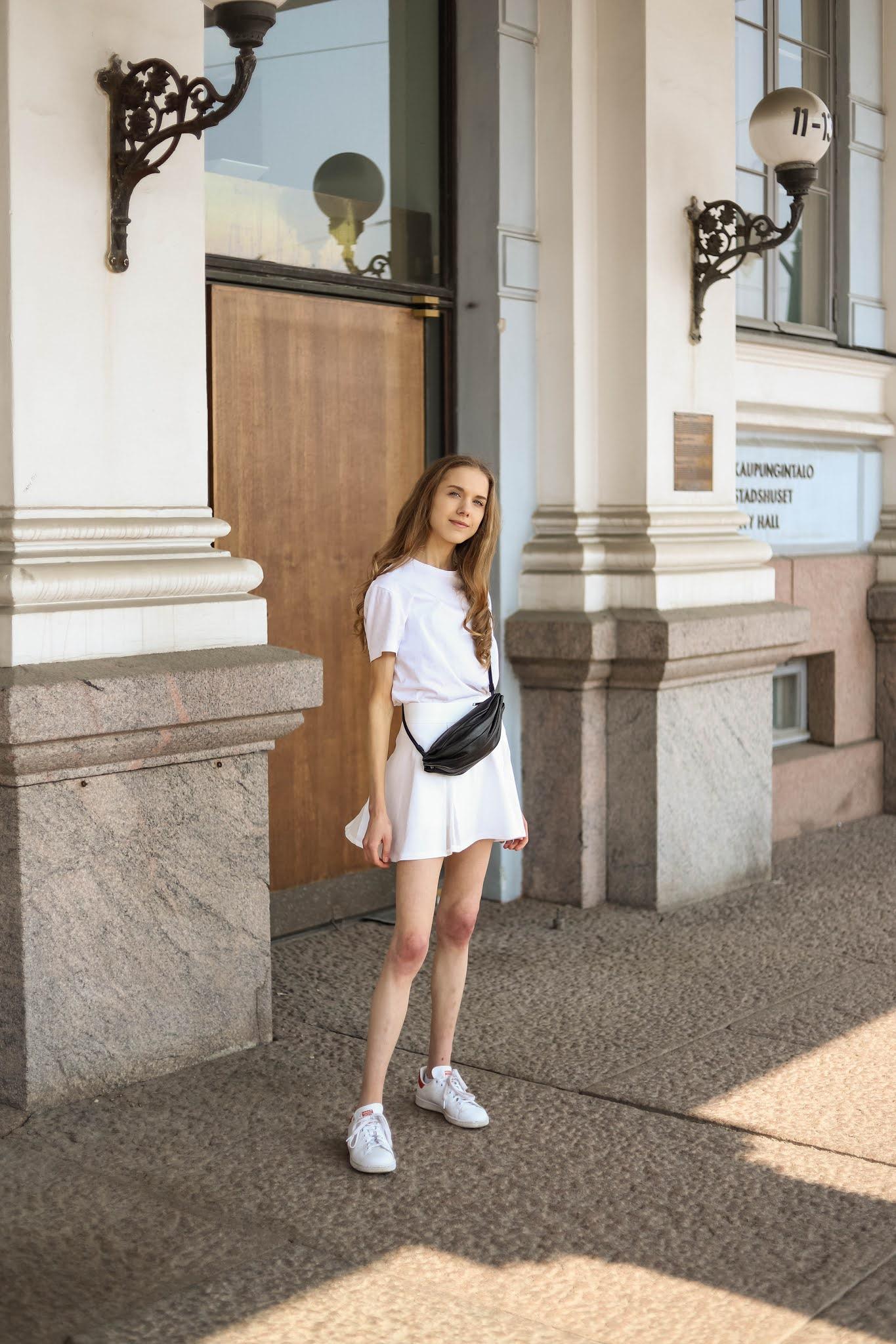 Kesän tyylivinkit: tennishame // Summer style tips: tennis skirt