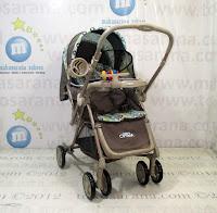Kereta Bayi BABYDOES CH265LT Shoxer Optima - Ayunan