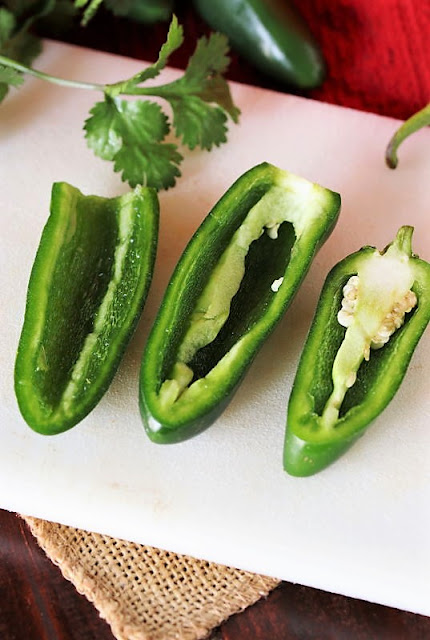 Seeded Jalapeno Peppers Image