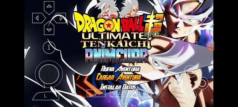 DBZ TTT Mods Download anime War Tenkaichi PSP ISO