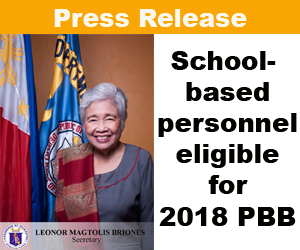 PBB 2018 for teachers