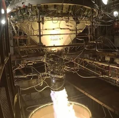 Испытания третьей ступени ракеты–носителя Циклон–4