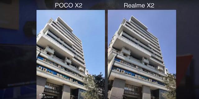 poco x2 vs realme x2 detailed camera comparison, poco x2,realme x2,poco,realme,