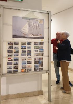 Exposición filatélica y otros coleccionismos en Avilés: calendarios