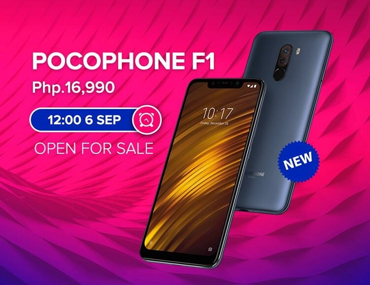Pocophone F1 Goes on Sale at Lazada; Xiaomi Holds LazMall Super Brand Day Sale
