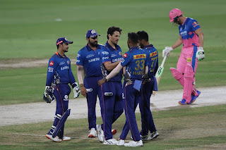 MI vs RR 51st Match IPL 2021 Highlights