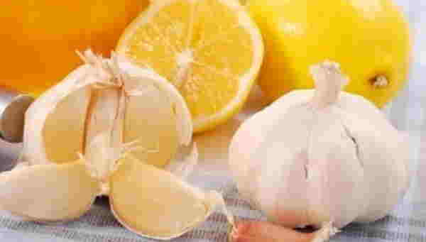 garlic and lemon high blood pressure