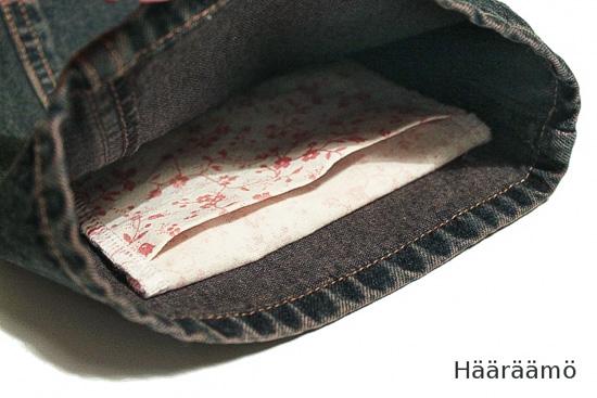 Ohje: Helppo tasku laukkuun