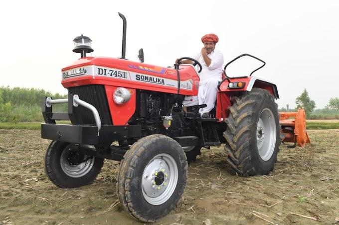 Bazar Plus-  सोनालिका ने लॉन्च किया भारत का पहला 5G ट्रैक्टर 'महाराजा DI 745 III''... राजस्थान के किसानों के लिए ख़ासतौर से बनाये गए इस tractor की आईए जानें क्या है खूबी !