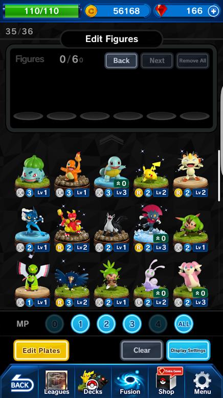 Pokémon Duel - Edição de Figuras