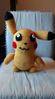amigurumi pikachu pokemon