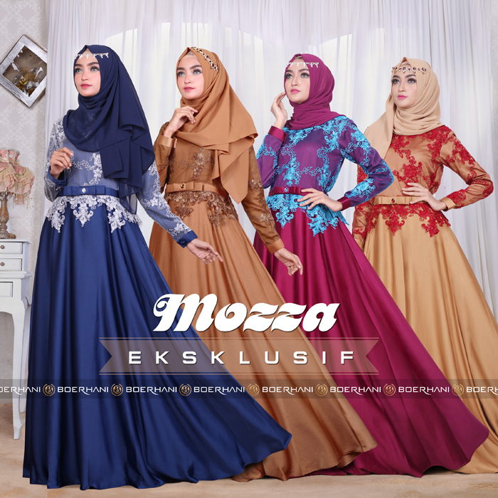 Supplier Baju Hijab Bandung  Mozza Eksklusif By Boerhani