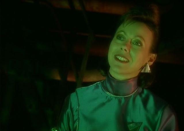 Jenny Agutter as Professor Mamet in Red Dwarf 6 episode Psirens