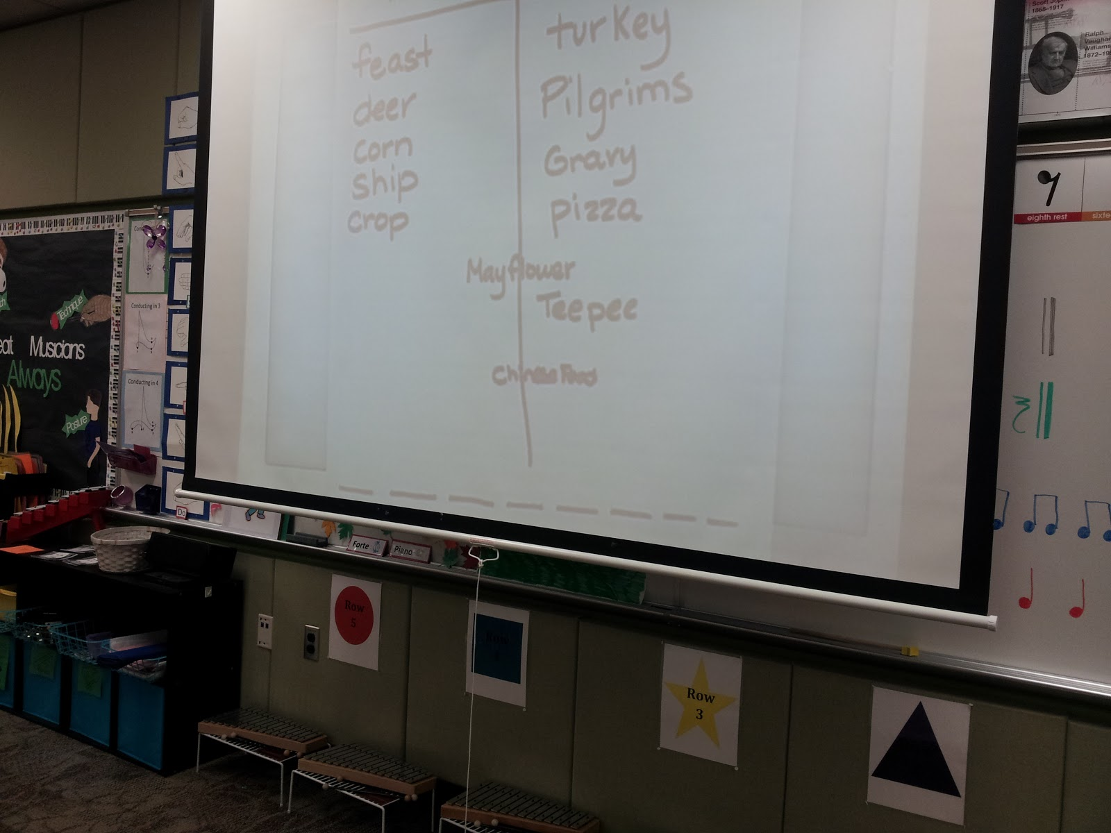 Mrs Q S Music Blog First Grade Thanksgiving Rhythms
