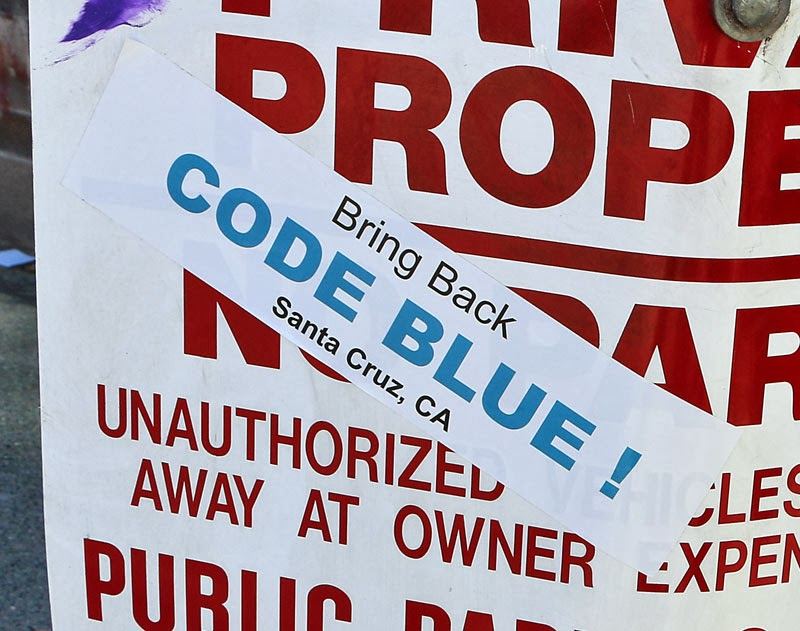 "Alex Darocy Photography: ""Bring Back Code Blue"" Sticker ..."