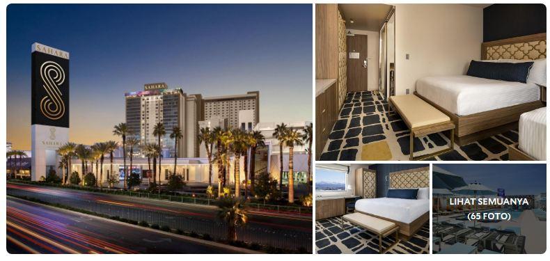 Sahara Hotel and Casino In Las Vegas USA