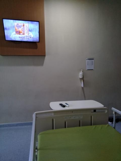 rawat inap di rumah sakit saat pandemi Covid-19