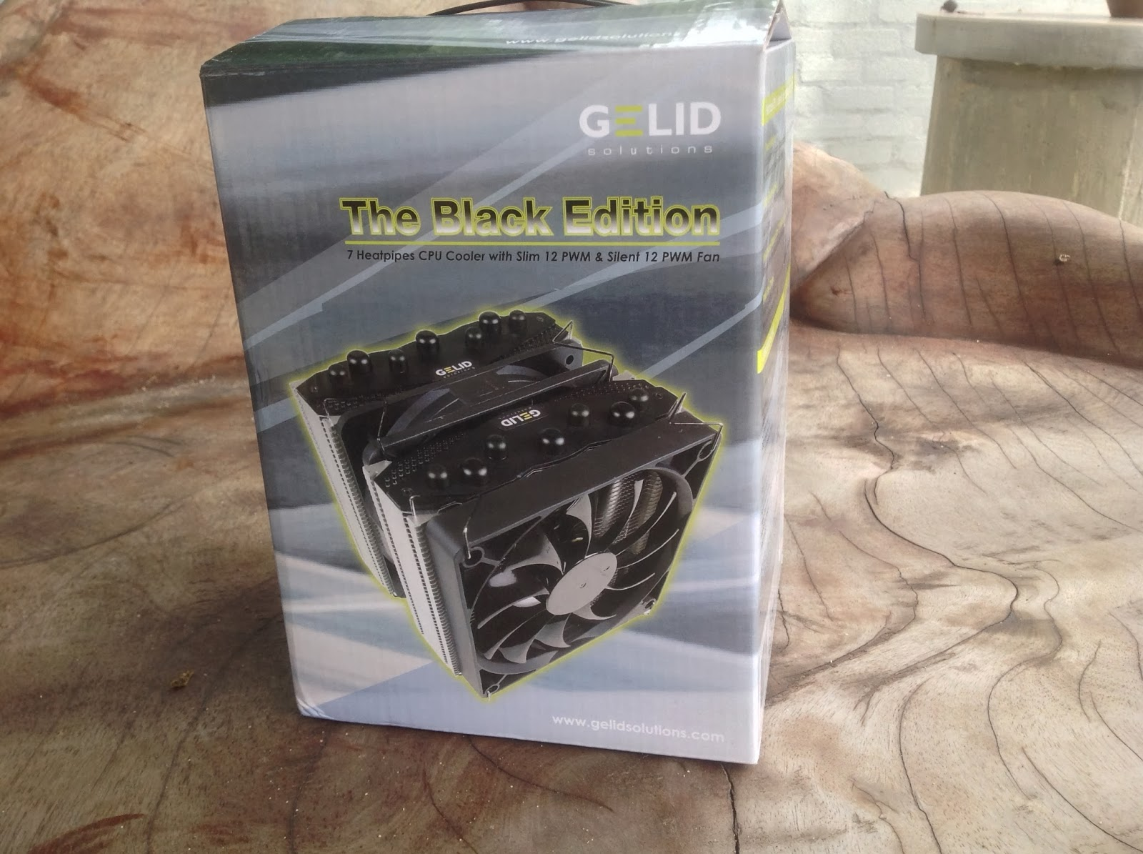 Gelid Solutions The Black Edition CPU Cooler Review 2