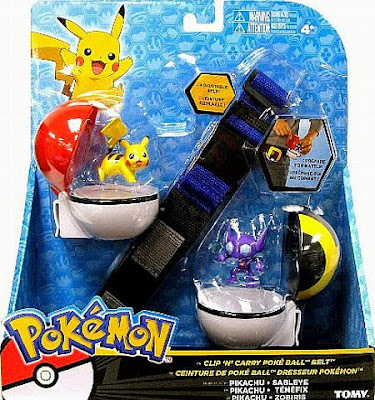 Sableye figure in  Tomy US Pokemon Clip N Carry Pokeball Belt Pikachu & Sableye Figures set