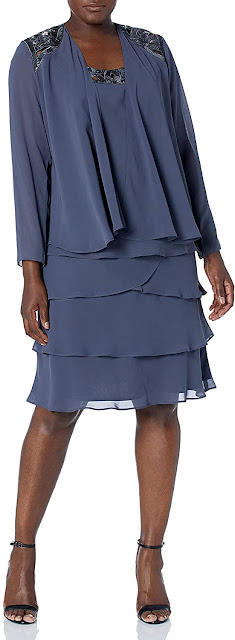 Charming Plus Size Mother of The Bride Dresses With Jackets