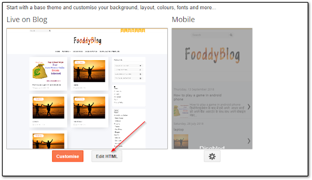 how to install new theme in blogger