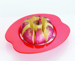 Apple Cutter Plastic & Stainless Steel