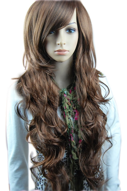 Hair Club: American Long Curly Hairstyle