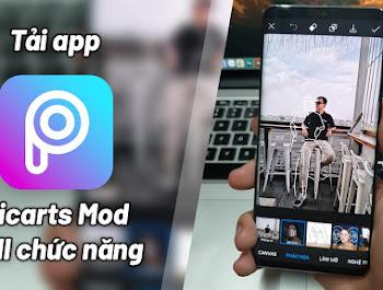 Picsart Mod Pro Mở Khóa Full Chức Năng cho Android