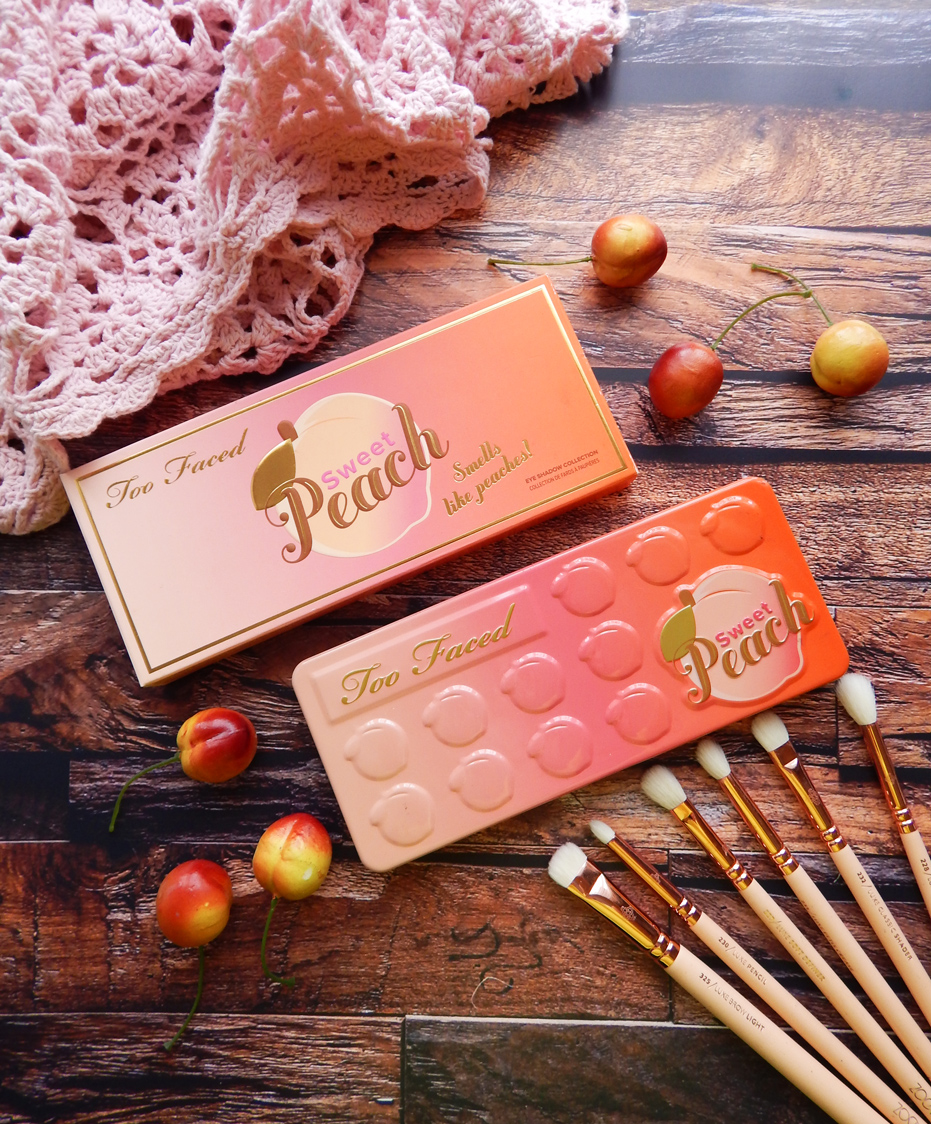 too faced sweet peach paleta