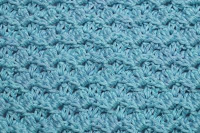 2 - Crochet Imagen Puntada a relieve sencilla por Majovel Crochet