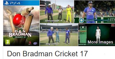 Don Bradman Cricket 17 Game