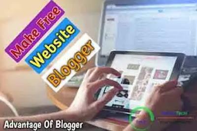 Make Free Website Use Blogger