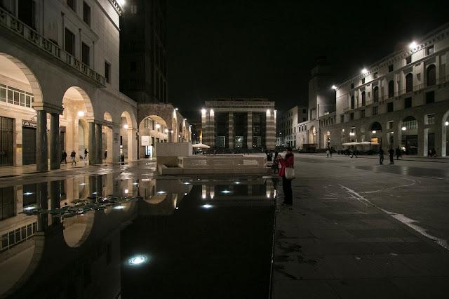 Brescia di notte