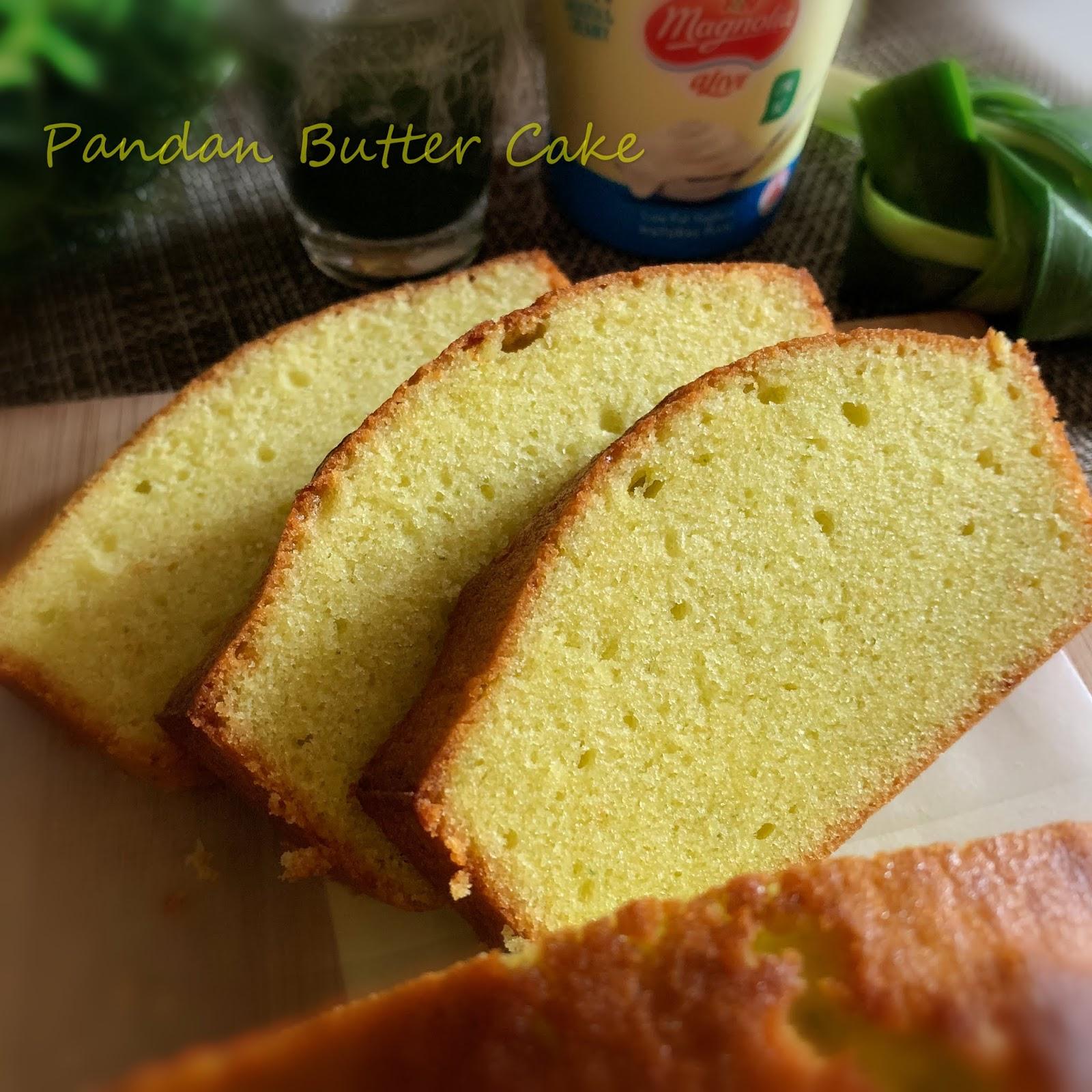 My Mind Patch Pandan Butter Cake 香兰牛油蛋糕