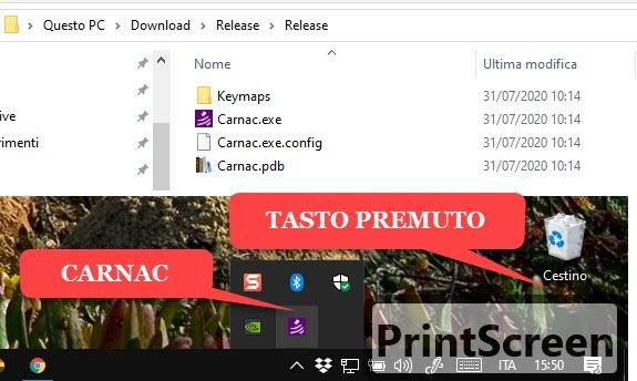app carnac per mostrare i tasti premuti