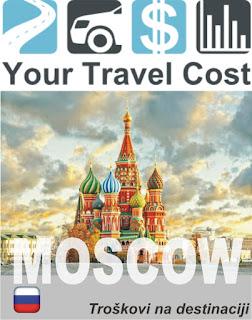 Moskva, trošak