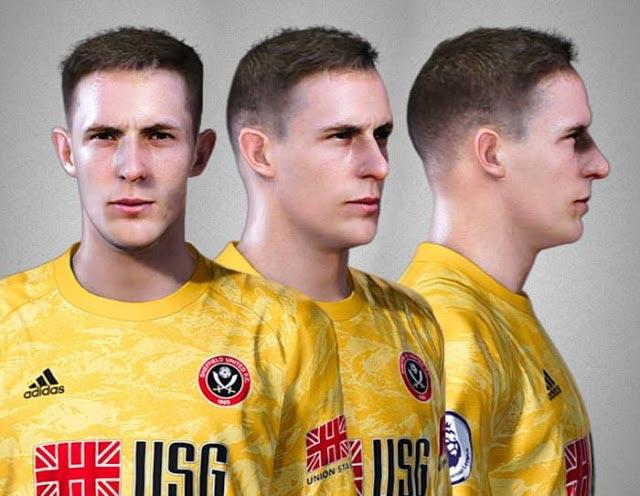 Dean Henderson Face eFootball PES 2020