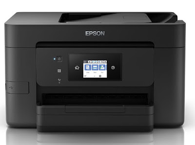 is a compact multifunction printer for the business office or domicile business office Epson WorkForce WF-4725 Driver Download