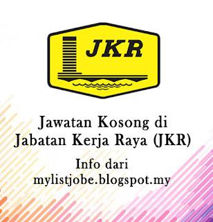 Jawatan Kosong Terkini di Jabatan Kerja Raya (JKR)