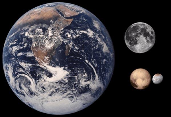 Điều gì sẽ xảy ra nếu sao diêm vương thay thế mặt trăng của trái đất?