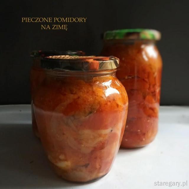 Pieczone pomidory na zimę