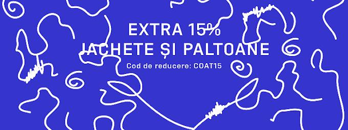 Reducere suplimentară de 15% la toate jachetele și paltoanele + Reducere suplimentară de 15% la brandul Vans / FOOTSHOP