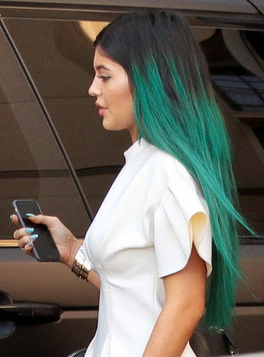 Kylie Jenner quite rocky and elegant