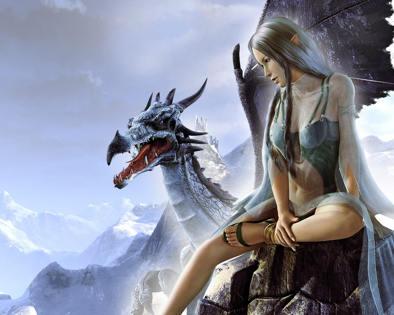 Stunning Hd Fantasy Gaming Desktop Wallpapers: Wallpaper Collections: Fantasy Wallpapers #2