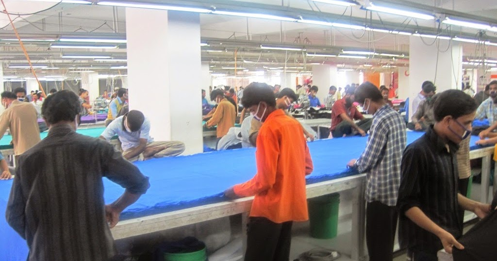 how t shirts are made in garment factories