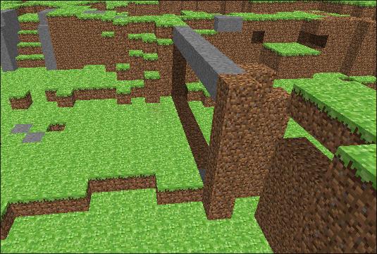 Pierwsza Budowla W Grze Minecraft Byl Skonstruowany Z Dziewieciu
