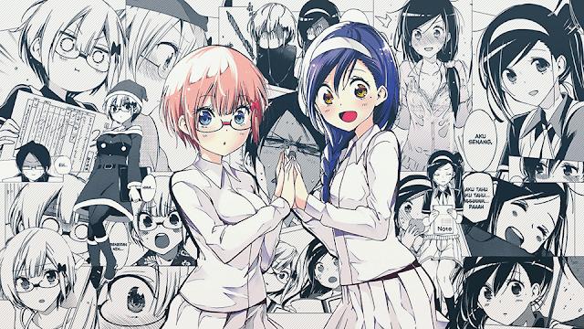 Rizu Ogata & Fumino Furuhashi - BokuBen Wallpaper